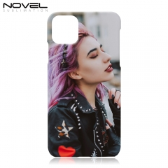 "Popular For iPhone 11 6.1"" Custom Plastic 3D Sublimation Case Cover"