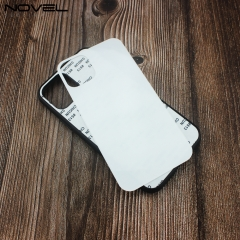New Popular Sublimation TPU Glass Case For iPhone 11 With Wireless Charging Glass Insert