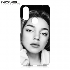 Sublimation Blank 3D Plastic Phone Case Cover For Lenovo A6 Note