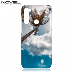 3D Sublimation Blank Phone Plastic Case For Redmi Note 8T