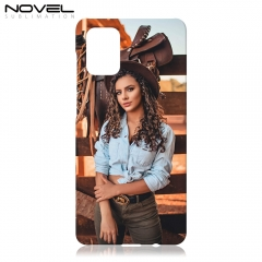 Sublimation Blank 3D Plastic Case For Galaxy A71