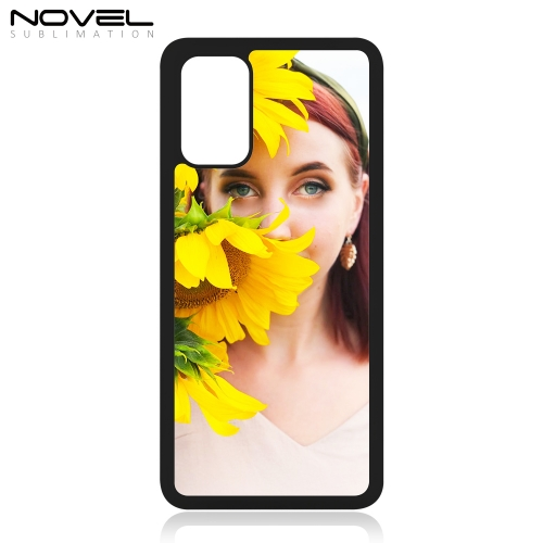 DIY Blank Rubber Phone Case Sublimation Cover For Galaxy S20 Plus