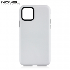 Custom Blank 3D 2IN1 Sublimation Case For iPhone 11 6.1""