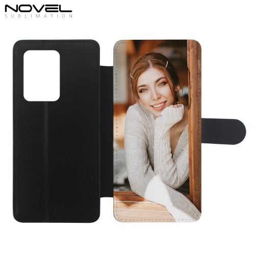 PU Flip Phone Wallet For Galaxy S20 Ultra Sublimation Case