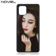 DIY Custom Plastic Sublimation 2D Cell Phone Case For Galaxy Note 10 Lite/ A81