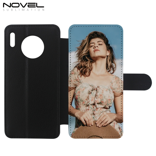 Personalized Leather PU Flip Phone Wallet For Huawei Mate 30 Pro