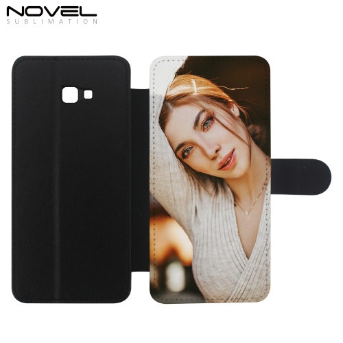 Sublimation Blank PU Leather Wallet For Galaxy J4 Plus