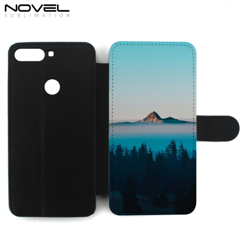 Sublimation Wallet Case Phone Shell For Huawei Y7 2018