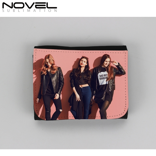 Classic Small Canvas Wallet Women Card Holder Pocket Wallet