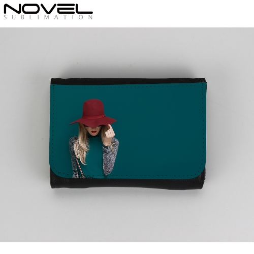 Stylish Middle Canvas Wallet Lady Purse