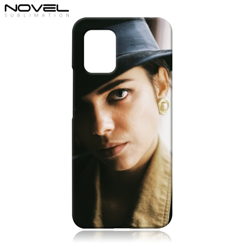 Blank Sublimation 3D Hard Plastic Phone Case Shell For Xiaomi 10 Lite