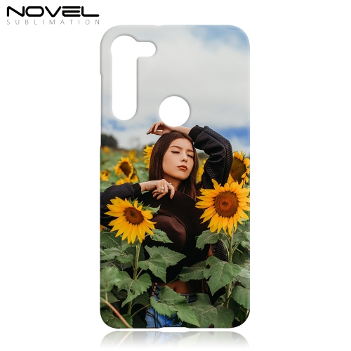 Blank Sublimation 3D Hard Plastic Phone Cover For Moto G8 Power