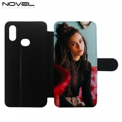 PU Leather Flip Phone Wallet Case For Galaxy A10S