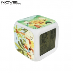 Custom Color Changing Digital Alarm Clock