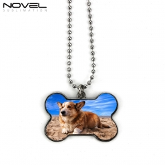 Sublimation Bone Shaped Dog Tag