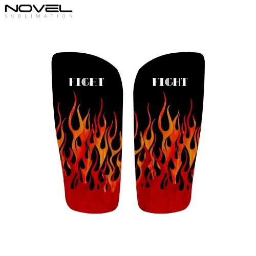 Personalized Sublimation 3D Blank Soccer Shin Guards