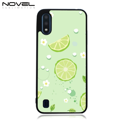 DIY 2D Plastic Phone Cover Sublimation Case For Galaxy A01