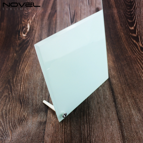 Blank Square Smooth Photo Frame Printed Glass Panel