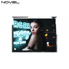 "8"" Glass Photo Panel Sublimation Blank Frame"