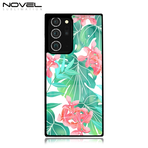 Popular Sublimation Blank 2D Hard Plastic Phone Case For Galaxy Note 20 Ultra