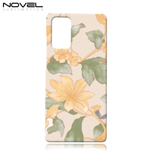 Blank Sublimation 3D Plastic Phone Case For Galaxy Note 20