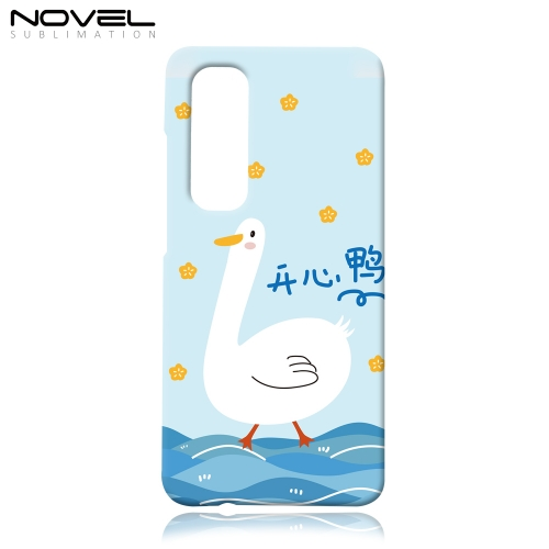Personalized Blank 3D Classic Plastic Phone Case For Xiaomi Note 10 Lite
