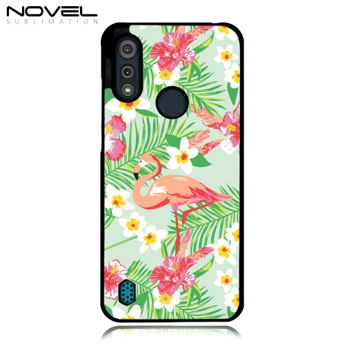 2D Plastic Phone Case for Moto E6S 2020 Sublimation Cell Phone Shell