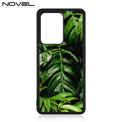 Blank Sublimation 2D Rubber Case For Galaxy S20 Ultra
