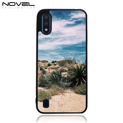Sublimation TPU 2D Rubber Case For Galaxy A01