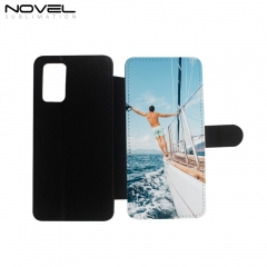 Premium PU Flip Wallet Sublimation Case for Galaxy Note 20 with  Magnetic Closure