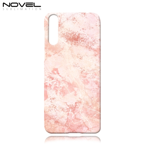 3D Paper Transfer Printing Sublimation Plastic Phone Case For Honor 20 Lite