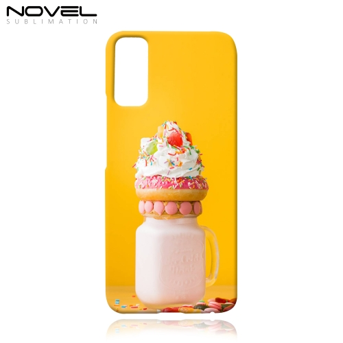 Sublimation Printing Blank 3D Plastic Cell Phone Case for Honor 30 Lite