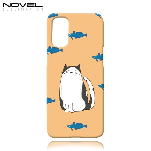 3D Sublimation Case for OPPO Reno 4 Blank Plastic Phone Cover