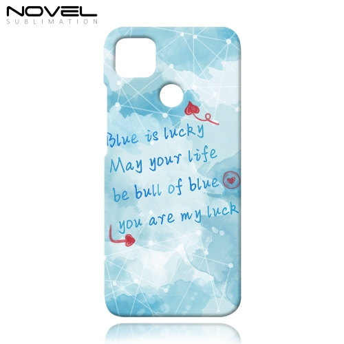 3D Sublimation Case Plastic Back Phone Cover for Redmi 9c