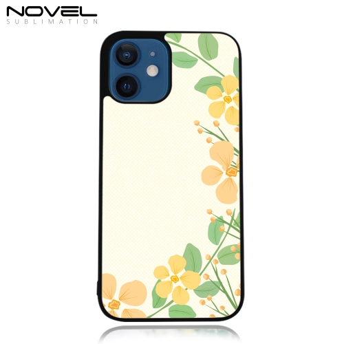 Hot Selling DIY Sublimation 2D TPU Rubber Phone Case for iPhone 12 Mini 5.4""
