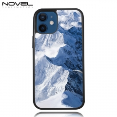 Popular Custom Sublimation Blank 2D 2IN1 Case Heavy Duty Phone Case for iPhone 12,12 Series