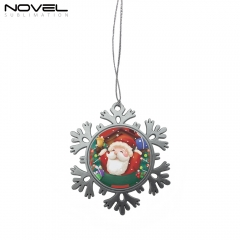 Sublimation Blank Pendant Xmas Snowflake Ornament