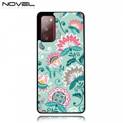 Heat Press Sublimation Blank TPU 2D Phone Case Cover for Galaxy S20 FE