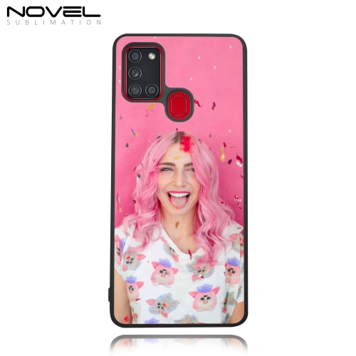 DYE Custom Sublimation TPU Rubber Cell Phone Back Case for Galaxy A21S