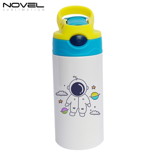 350ml Children's Vacuum Cup Sublimation Printing Water Bottle