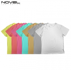 High Quality Sublimation Blank Polyester T-Shirt for Children